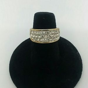 18K Gold Electroplated Size 6 Ring